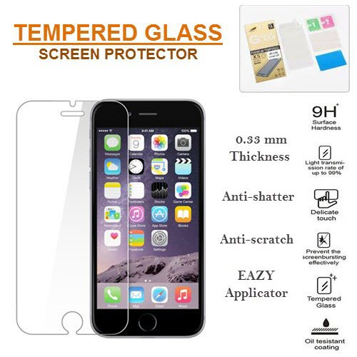 Blackberry All Models SomosTel® Premium HD Clear Tempered Glass Screen Protector 9H Hardness 0.33mm 2.5D
