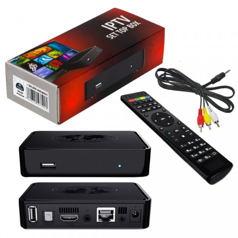 Mag 254 IPTV Android Box