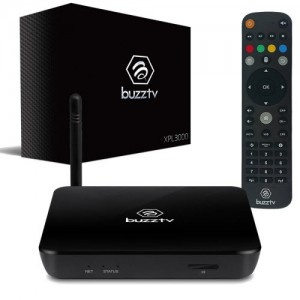 BuzzTV XPL3000 Android based IPTV Set-top-Box and Streaming Media Player