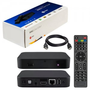 Infomir MAG 322 W1 Media Player (HEVC H.265) With Built-In 150Mbps Wi-Fi