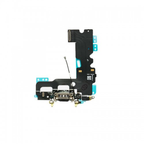 Apple iPhone 7 4.7 USB Charging Port Port Flex Cable Headphone Audio Dock Black