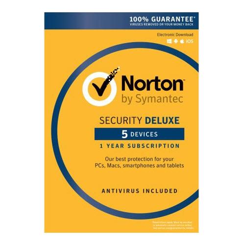 Symantec Norton Security Deluxe 5 Devices