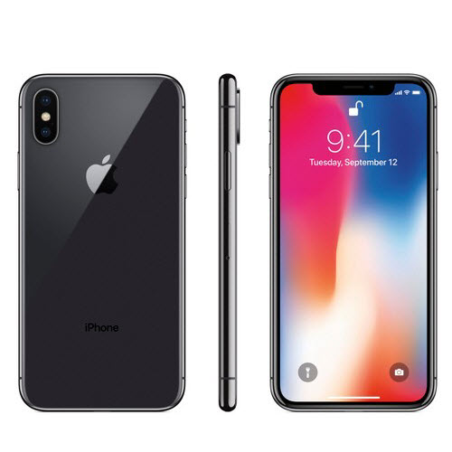 Apple iPhone X 256GB Black Unlocked